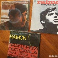 Discos de vinilo: RAIMON. Lote 190213977