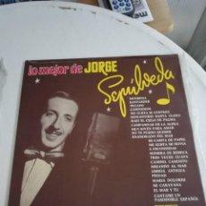 Discos de vinilo: JORGE SEPÚLVEDA. Lote 190217056