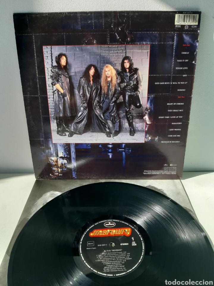 Discos de vinilo: KISS. REVENGE. 1992. MERCURY. ESPAÑA. - Foto 2 - 190217960