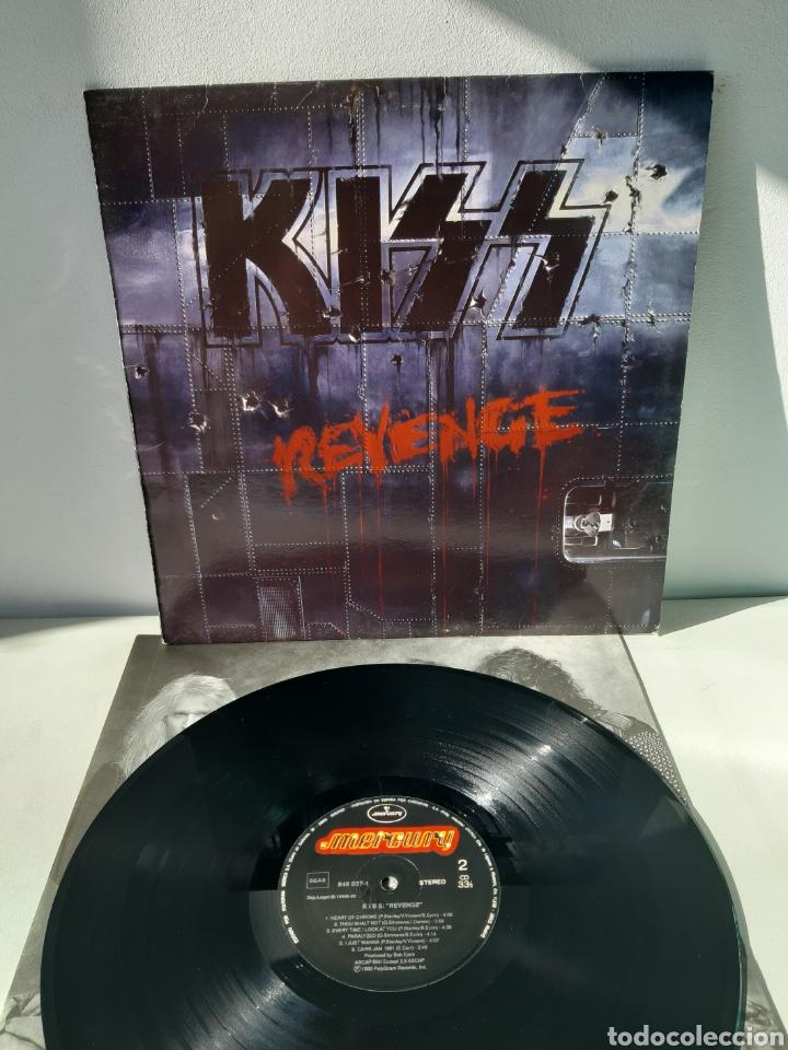 KISS. REVENGE. 1992. MERCURY. ESPAÑA. (Música - Discos - LP Vinilo - Heavy - Metal)