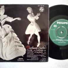 Discos de vinilo: DIVERTIMENTO QUARTET - MINUET IN G MAJOR...- EP HOLANDES - PHILIPS. Lote 190235393