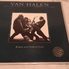 Discos de vinilo: VAN HALEN -WOMEN AND CHILDREN FIRST- (1980) LP DISCO VINILO. Lote 190240322