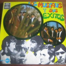 Discos de vinilo: LOS MUSTANG - Y SUS ÉXITOS ************** RARO LP EMI REGAL 1968 GRAN ESTADO. Lote 190243260