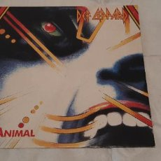 Discos de vinilo: DEF LEPPARD -ANIMAL- (1987) MAXI-SINGLE. Lote 190289647