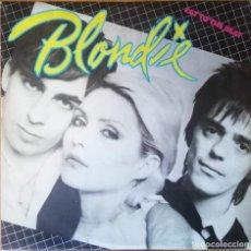 Discos de vinilo: BLONDIE - EAT TO THE BEAT LP 1979 1ª EDICION ESPAÑOLA INCLUYE ENCARTE. Lote 190321382