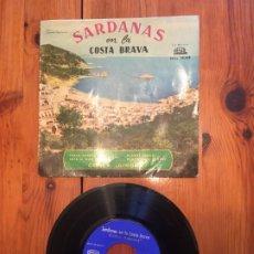 Discos de vinilo: COBLA GIRONA SARDANAS. Lote 190322050