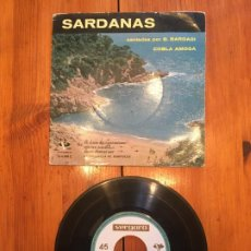 Discos de vinilo: COBLA AMOGA SARDANAS. Lote 190322570