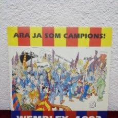 Discos de vinilo: ARA JA SÓN CAMPIONS! WEMBLEY 1992. Lote 190323791