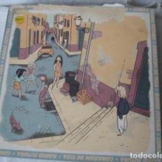 Discos de vinilo: RADIO FUTURA CORAZÓN DE TIZA / LA RONDA DEL COLGADO. Lote 190325715
