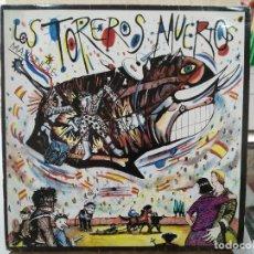 Discos de vinilo: LOS TOREROS MUERTOS - YO NO ME LLAMO JAVIER, MI AGÜITA AMARILLA... - MAXI SINGLE DEL SELLO ARIOLA 86. Lote 190329021