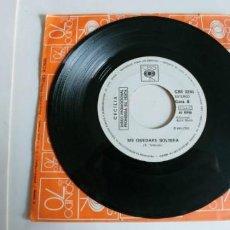 Discos de vinilo: CECILIA-SINGLE ANDAR-ME QUEDARÉ SOLTERA-PROMO. Lote 190337032