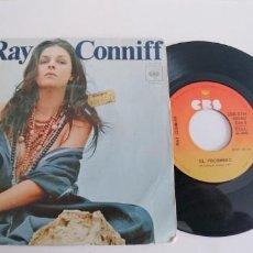 Discos de vinilo: RAY CONNIFF-SINGLE JAMAS. Lote 190337906