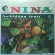 Discos de vinilo: NINA SIMONE – FORBIDDEN FRUIT JAPON 1977 PYE RECORDS. Lote 190304068