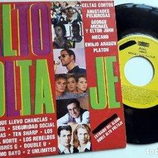 Discos de vinilo: SINGLE ALTO VOLTAJE MECANO EN PORTADA (OBK, HOMBRES G...) *GASTOS DE ENVÍO 6 EUROS*. Lote 190348333