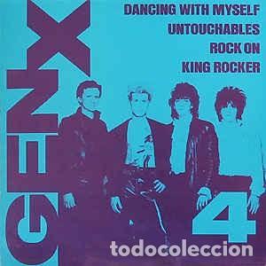 GENERATION X 4 ----$ TEMAS ...MAX OJO SIN PORTADA,,PORTADA FOTOCOPIA (Música - Discos de Vinilo - Maxi Singles - Punk - Hard Core)