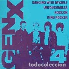Discos de vinilo: GENERATION X 4 ----$ TEMAS ...MAX OJO SIN PORTADA,,PORTADA FOTOCOPIA. Lote 190357617
