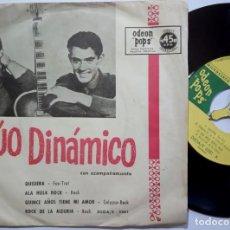 Discos de vinilo: DUO DINAMICO - QUISIERA - RARO EP ARGENTINO - ODEON POPS. Lote 190364128