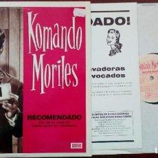 Disques de vinyle: KOMANDO MORILES - RECOMENDADO POR 28 DE CADA 27 FABRICANTES DE LAVADORAS - SKA REGGAE MOD. Lote 190364516