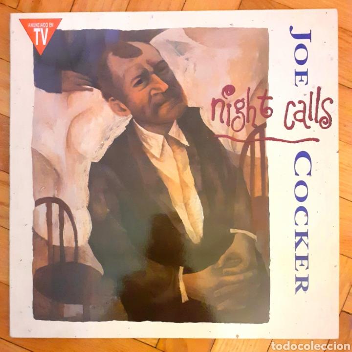 JOE COCKER NIGHT CALLS LP MUY BUEN ESTADO (Música - Discos - LP Vinilo - Jazz, Jazz-Rock, Blues y R&B)