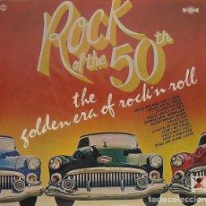 Discos de vinilo: ROCK OF THE 50TH - THE GOLDEN ERA OF ROCK 'N ROLL . Lote 190371157