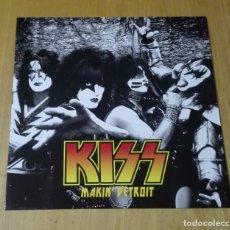 Discos de vinilo: KISS - MAKIN' DETROIT (LP REEDICIÓN) NUEVO . Lote 190374231
