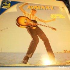 Discos de vinilo: LP 2 DISCOS JOHNNY HALLYDAY. OLYMPIA 1962 ET 1964. PHILIPS 1962 FRANCE (PROBADOS Y BIEN, LEER). Lote 190392901