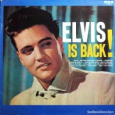 Discos de vinilo: ELVIS PRESLEY - ELVIS IS BACK - LINEATRES. Lote 190405007