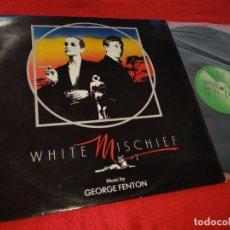 Discos de vinilo: WHITE MISCHIEF BSO OST GEORGE FENTON LP 1988 TER UK. Lote 190412008