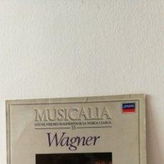Discos de vinilo: DISCO VINILO WAGNER. MUSICALIA. SALVAT. Lote 190419842