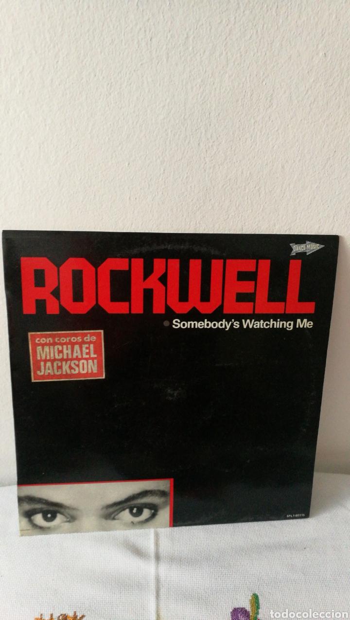 Discos de vinilo: 2 Discos de vinilo. Historia de la música rock Little Richard. Rockwell. Somebody's watching me. - Foto 2 - 190422643