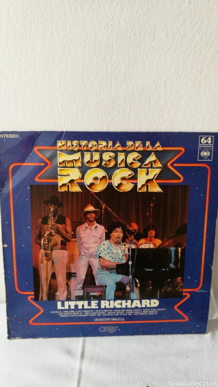 Discos de vinilo: 2 Discos de vinilo. Historia de la música rock Little Richard. Rockwell. Somebody's watching me. - Foto 3 - 190422643