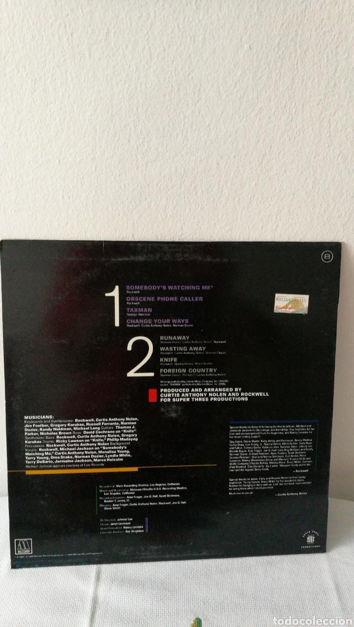 Discos de vinilo: 2 Discos de vinilo. Historia de la música rock Little Richard. Rockwell. Somebody's watching me. - Foto 5 - 190422643