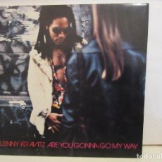 Discos de vinilo: LENNY KRAVITZ - ARE YOU GONNA GO MY WAY - FUNDA INTERIOR - 1993 - EUROPE - VG+/EX+. Lote 190425427