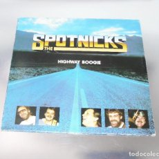Discos de vinilo: THE SPOTNICKS ----L.P.------- HIGHWAY BOOGIE -- COMMANDER 39004-- MINT ( M ). Lote 190425776