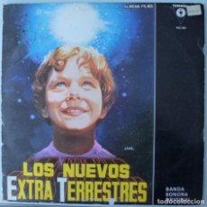 Discos de vinilo: B.S.O. LOS NUEVOS EXTRA-TERRESTRES (MAXISINGLE VICTORIA 1983). Lote 190425802