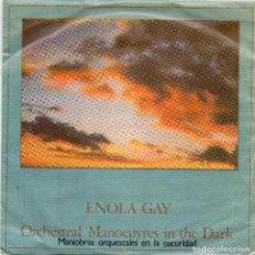 Discos de vinilo: ORCHESTRAL MANOEUVRES IN THE DARK - ENOLA GAY - SINGLE. Lote 190431647