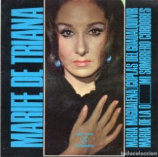 Discos de vinilo: MARIFE DE TRIANA - MARIA MAGDALENA + 3 EP.S. Lote 190435192