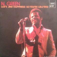 Disques de vinyle: AL GREEN. SINGLE. SELLO LONDON. EDITADO EN ESPAÑA. AÑO 1973. Lote 190440570