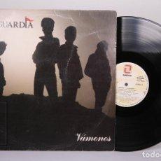 Dischi in vinile: DISCO LP DE VINILO - LA GUARDIA / VAMONOS - ZAFIRO - AÑO 1988 - CON ENCARTE. Lote 190445732
