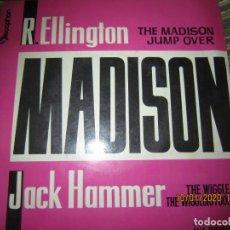 Discos de vinilo: E. ELLINGTON JACK HAMMER E.P. - ORIGINAL ESPAÑOL - DISCOPHON 1962 MADISON - MONOAURAL. Lote 190458328