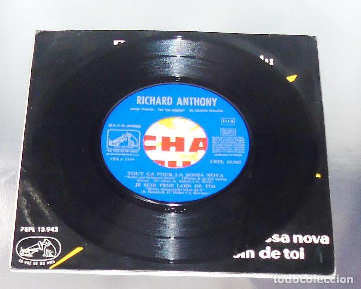 Discos de vinilo: RICHARD ANTHONY --- RUBY BABY & UN HOMME A REPONDU & + 2 AÑO 1963 - Foto 3 - 190459166