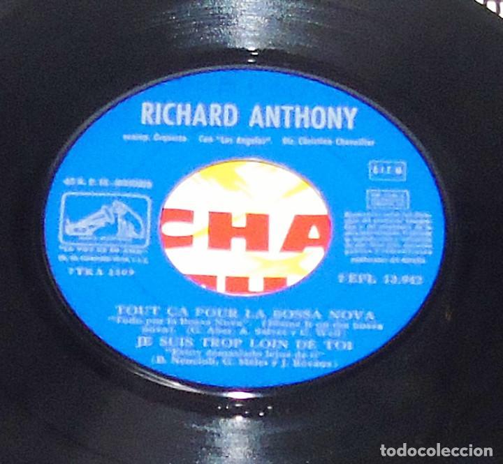 Discos de vinilo: RICHARD ANTHONY --- RUBY BABY & UN HOMME A REPONDU & + 2 AÑO 1963 - Foto 5 - 190459166