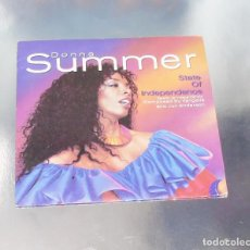 Discos de vinilo: DONNA SUMMER --- STATE OF INDEPENDENCE & LOVE JUST A BREATH AWAY ----( NM OR M- )----. Lote 190464521