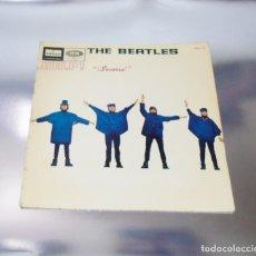 Discos de vinilo: THE BEATLES - HELP ----LEVEL AZUL FUERTE --MOCL 136 --1ª EDICION ESPAÑA 1965--- MONO--. Lote 159694526