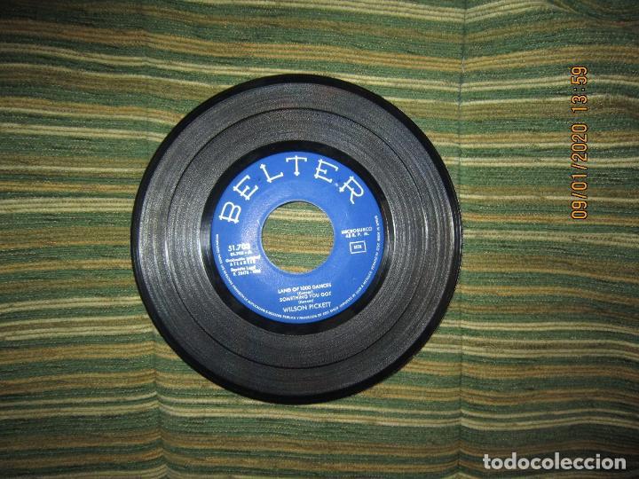 Discos de vinilo: WILSON PICKETT - LAND OF 1000 DANCES E.P. - ORIGINAL ESPAÑOL - BELTER RECORDS 1966 MONOAURAL - Foto 4 - 190468823