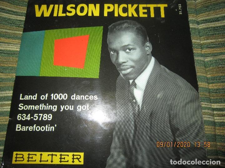 WILSON PICKETT - LAND OF 1000 DANCES E.P. - ORIGINAL ESPAÑOL - BELTER RECORDS 1966 MONOAURAL (Música - Discos de Vinilo - EPs - Funk, Soul y Black Music)