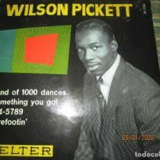 Discos de vinilo: WILSON PICKETT - LAND OF 1000 DANCES E.P. - ORIGINAL ESPAÑOL - BELTER RECORDS 1966 MONOAURAL. Lote 190468823