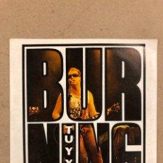 """Discos de vinilo: BURNING """"TU Y YO"""". SINGLE EN VINILO. DISCOS VICTORIA 1985. CARA B ERES PARA MI.. Lote 190484167"""