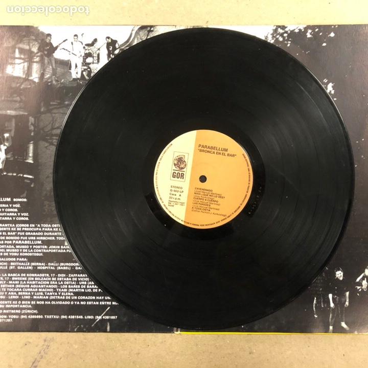 """Discos de vinilo: PARABELLUM """"BRONKA EN EL BAR"""". L.P. GOR DISKOS 1991. GATEFOLD. - Foto 4 - 190485601"""