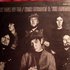 Discos de vinilo: ERIC BURDON & THE ANIMALS - EVERY ONE OF US .. Lote 190500095